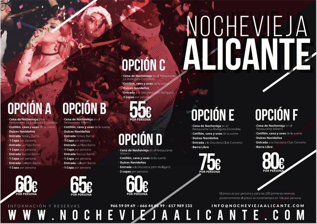 Nochevieja 2017 comunidad valenciana